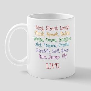 Live ! Mug