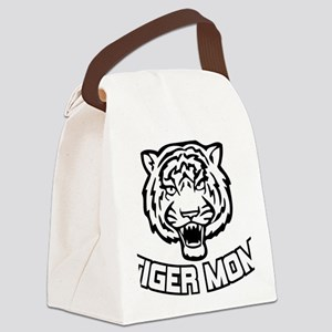 Tiger mom Canvas Lunch Bag