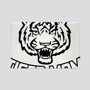 Tiger mom Rectangle Magnet