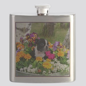 flowers boston b Flask