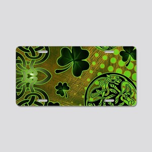 IRISH-CELTIC-LAPTOP- Aluminum License Plate