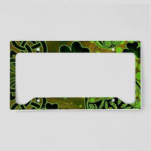 IRISH-CELTIC-LAPTOP- License Plate Holder
