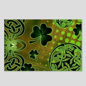 IRISH-CELTIC-LAPTOP- Postcards (Package of 8)