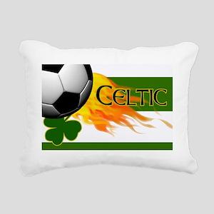 CELTIC-IRISH-FOOTBALL-LA Rectangular Canvas Pillow