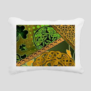 CELTIC-KNOTWORK-IRISH-LA Rectangular Canvas Pillow