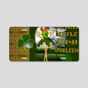 WILD-LITTLE-IRISH-COLLEEN-L Aluminum License Plate