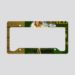 WILD-LITTLE-IRISH-COLLEEN-LAP License Plate Holder