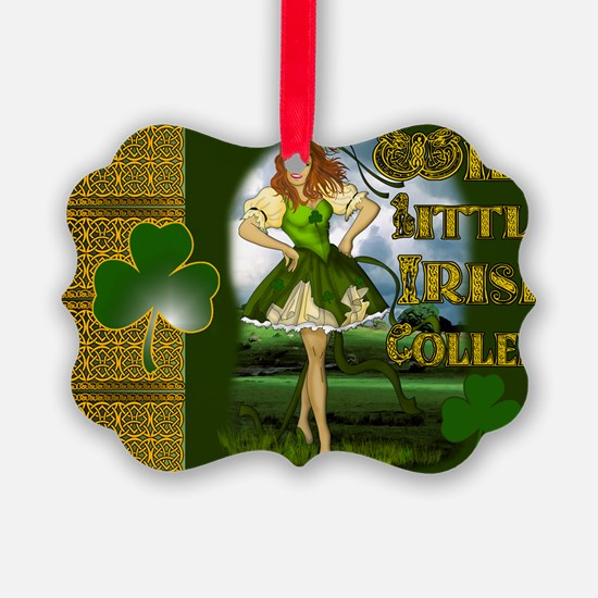 WILD-LITTLE-IRISH-COLLEEN-LAPTOP Ornament