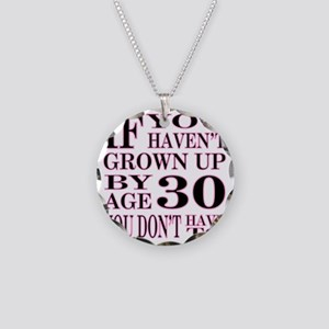 1 Age 30 Necklace Circle Charm