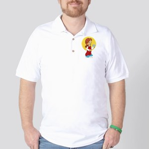 Flower Girl 2 Golf Shirt
