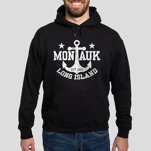 Montauk Long Island Hoodie (dark)