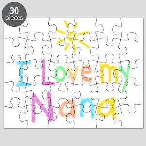 I Love My Nana! Puzzle