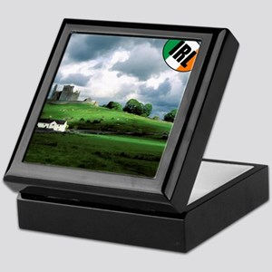 IRISH-LANDSCAPE-PILLOW Keepsake Box