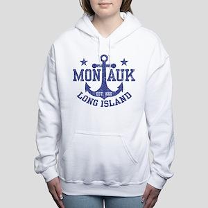 Montauk Long Island Women's Hooded Sweatshirt