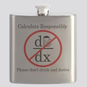 Dont Drink and Derive - Beer Flask