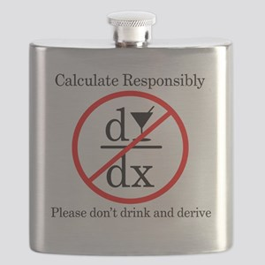 Dont Drink and Derive - Wine Flask