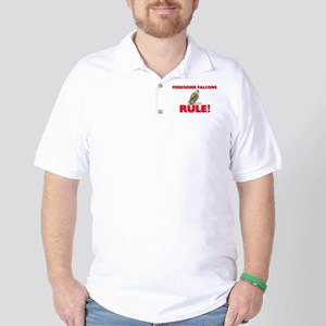Peregrine Falcons Rule! Golf Shirt
