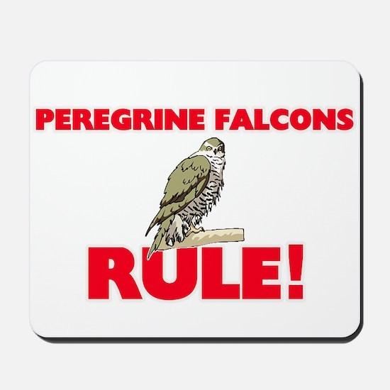Peregrine Falcons Rule! Mousepad