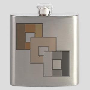 Bear Pride Flask
