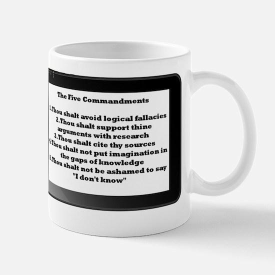 5commandments tablet Mug
