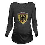 Germany Metallic Shield Long Sleeve Maternity T-Sh