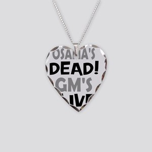 ossamas dead Necklace Heart Charm