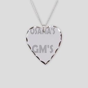 ossamas dead dark tees Necklace Heart Charm