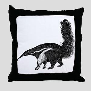 Giant Anteater Throw Pillow