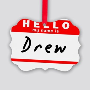 Drew Picture Ornament