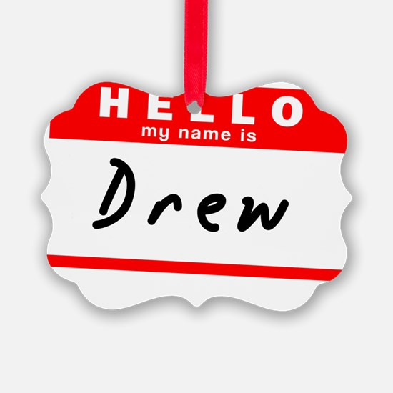 Drew Ornament