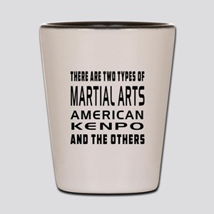 American Kenpo Designs Shot Glass