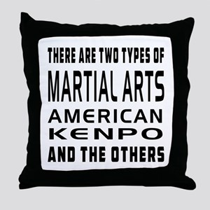 American Kenpo Designs Throw Pillow