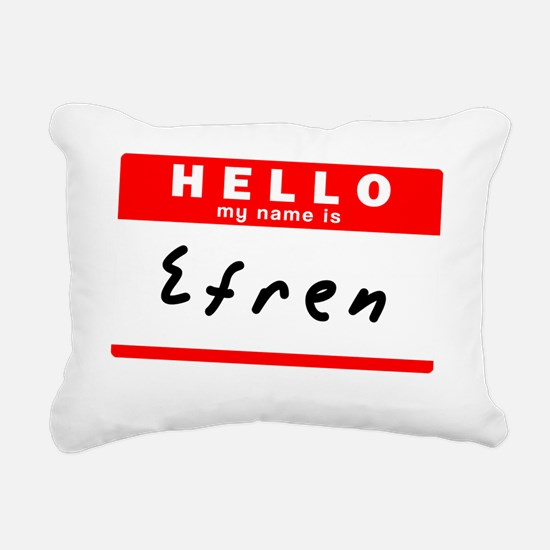Efren Rectangular Canvas Pillow