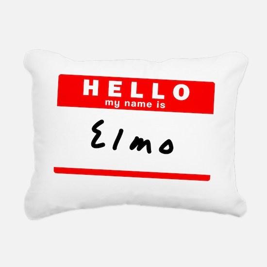 Elmo Rectangular Canvas Pillow