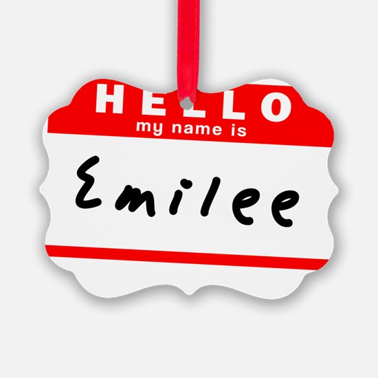 Emilee Ornament