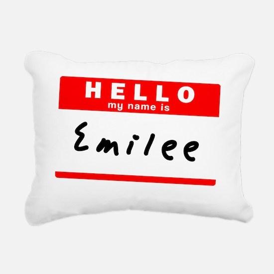 Emilee Rectangular Canvas Pillow