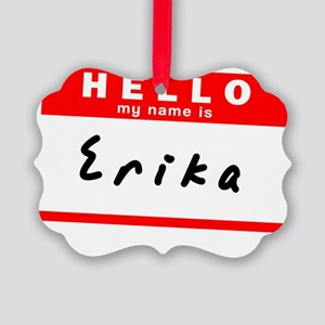 Erika Picture Ornament