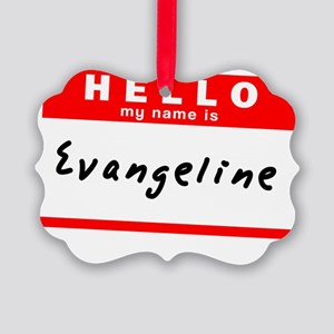Evangeline Picture Ornament