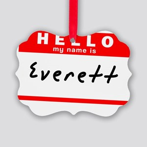 Everett Picture Ornament