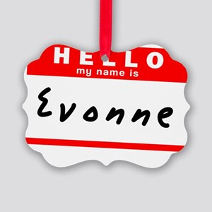 Evonne Picture Ornament