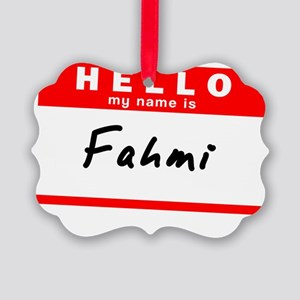 Fahmi Picture Ornament