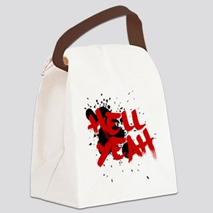 Hell yeah teeshirts Canvas Lunch Bag