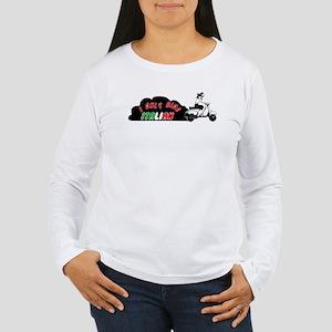 I Only Ride Italian Women's Long Sleeve T-Shirt