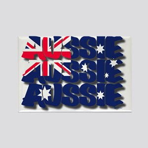 aussie drop shadow Rectangle Magnet