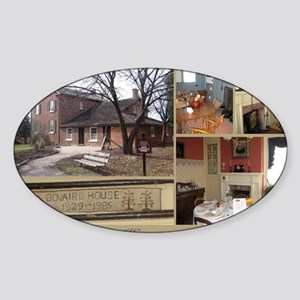 Bovaird House Sticker (Oval)