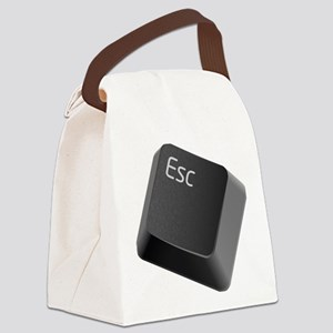 push-to-esc Canvas Lunch Bag