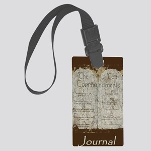 10 Commandments Journal Large Luggage Tag