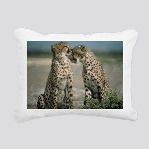 Cheetahs Rectangular Canvas Pillow
