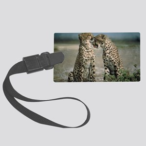 Cheetahs Large Luggage Tag