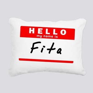 Fita Rectangular Canvas Pillow
